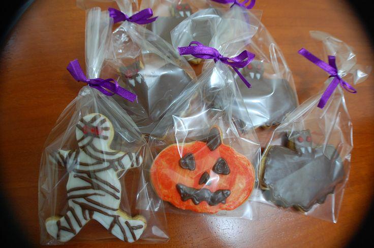 Listos para vender! Galletas de Halloween <3