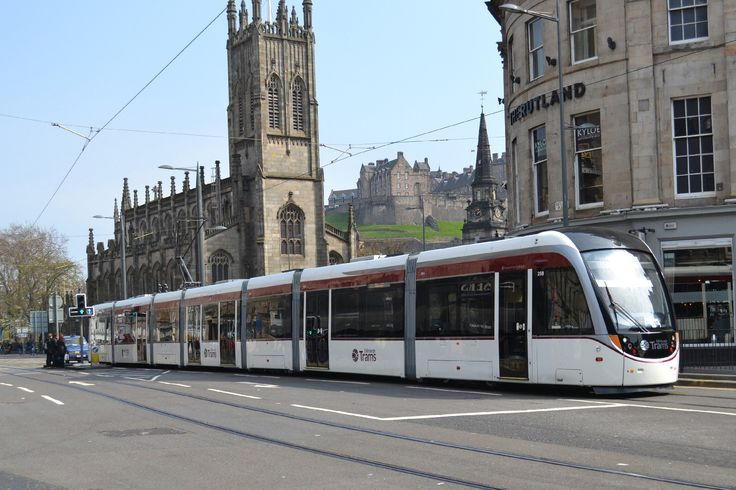 Edinburgh CAF Tram by D. Burrell