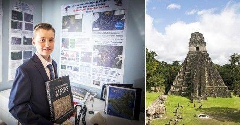William Gadoury encontró una ciudad maya escondida gracias a una ingeniosa teoría que él mismo inventó.