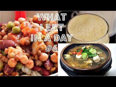 WHAT I EAT IN A DAY #6 (Korean Soup Recipe) | Cheap Lazy Vegan - http://2lazy4cook.com/what-i-eat-in-a-day-6-korean-soup-recipe-cheap-lazy-vegan/