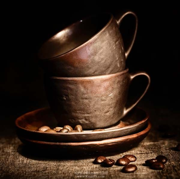 """Coffee Break: 21 gorgeous and artistic shots of coffee, coffee beans, coffee set-ups, etc. -- Links in the click through for """"Delicious Examples of Food Photography"""""""
