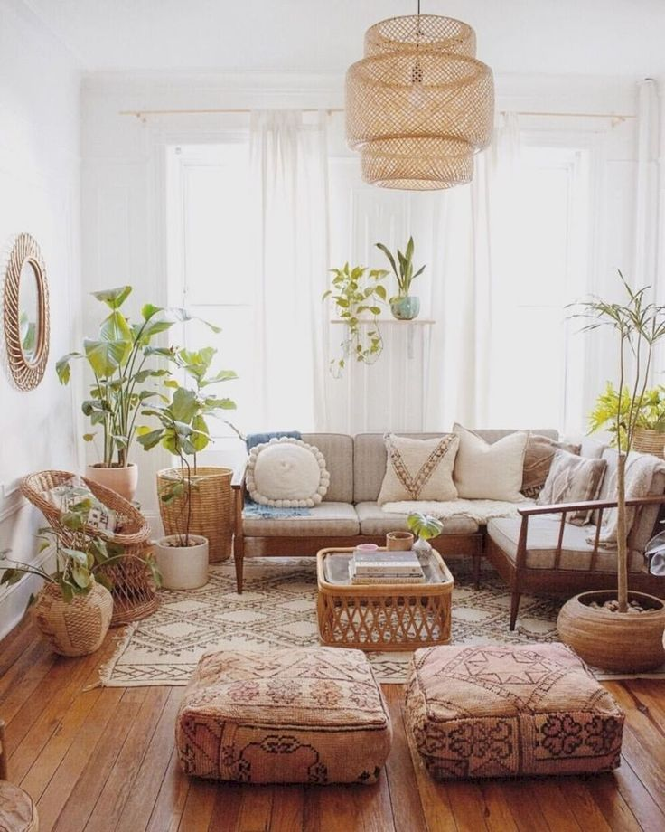 30 Modern Bohemian Living Room Ideas For Small Apartment Homiku Com Modern Bohemian Living Room Bohemian Living Room Decor Apartment Living Room