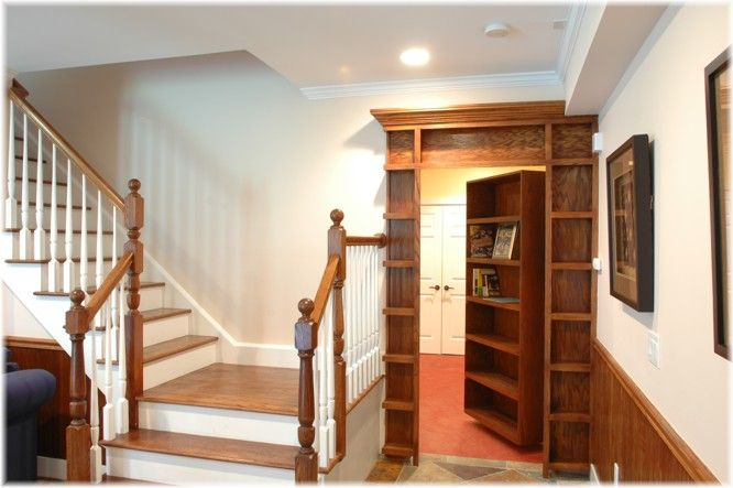 If I don't have a house with a room hidden behind a book case before I'm 40 then I'm doing it wrong.