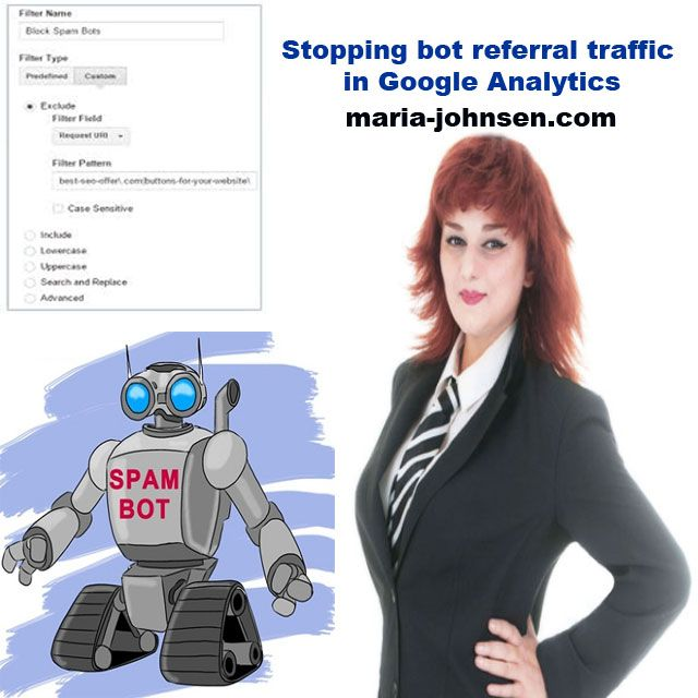 Stopping bot referral traffic in Google Analytics | Million Dollar Blog