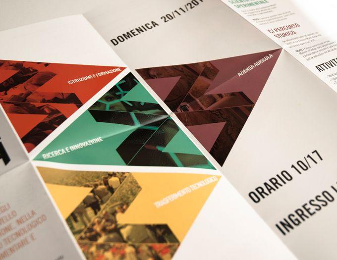 Kinè scs // Web, Graphic & more // Porte Aperte, fondazione Mach (Trentino), flyer & brochure //  www.kine.coop