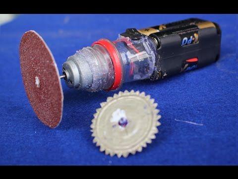 Mini testere,zımpara projesi yapımı [video] | Teknoloji ve Tasarım Projeleri | Basit proje fikirleri