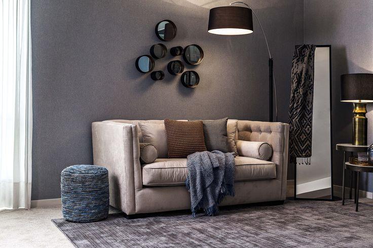 Shimmer / Cosmopolitan Living / Sofabed / Mirror / Coffeetables / Textiles / Cushion / Loft / Interior / Decoration / Funiture / Dôme Deco