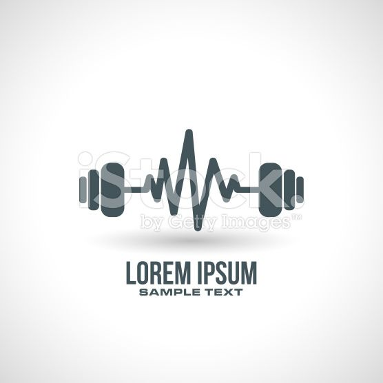 gym icon design royalty-free stock vector art