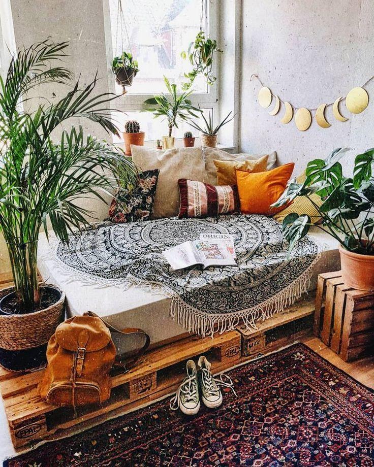 super groß 50 Boho inspirierte Wohnaccessoires Pläne  – Dekoration DIY