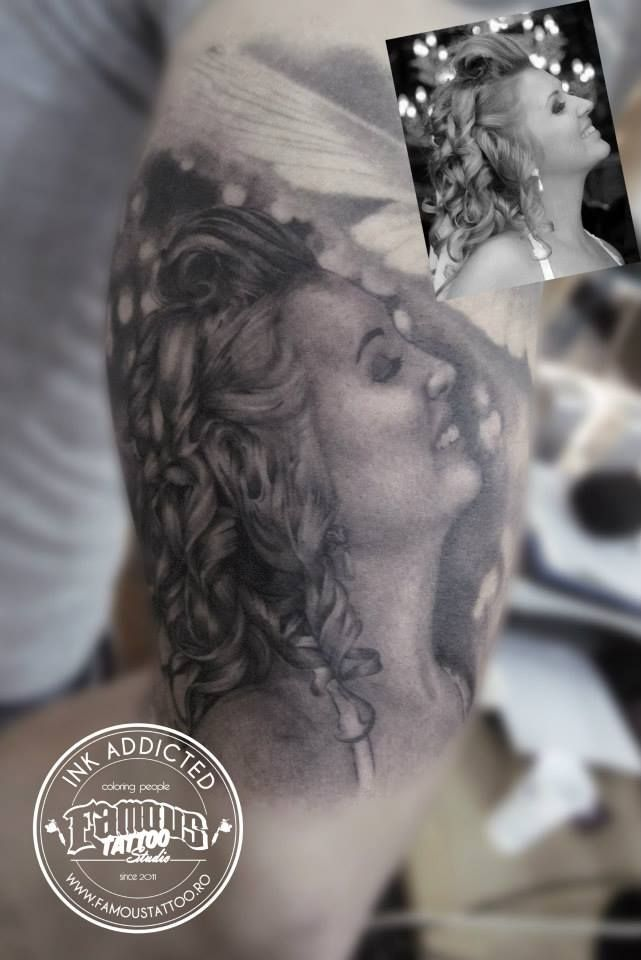 Dragos Macavei. Famous Tattoo Studio. Bucharest Romania