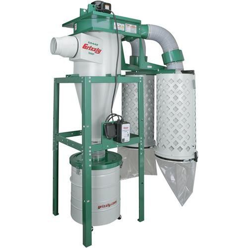 Shop our G0442 - 5 HP Cyclone Dust Collector at Grizzly.com