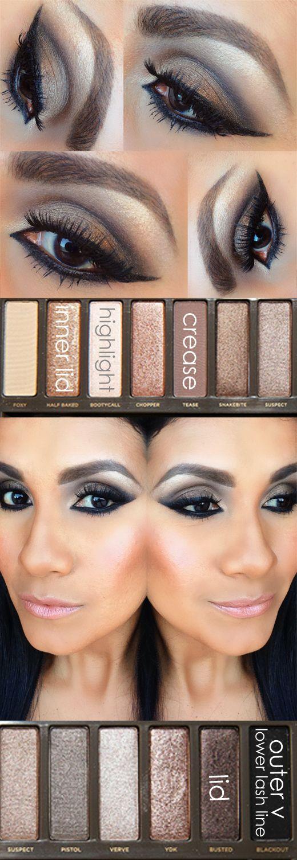 naked palette 2 eye makeup