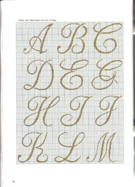 Knitting Cursive Letters : Best images about alphabet graphs on pinterest fonts