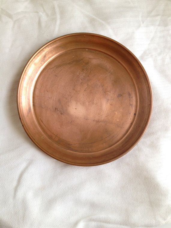 Solid Copper WestBend Aluminum Company Tray by cirajames on Etsy