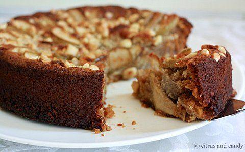 apple almond honey cake...uhh yumCake September, Almond Honey, Apples Almond, Tea Cakes, Almond Teas, Cake Gluten, Flourless Apples, Teas Cake, Almond Teacakes