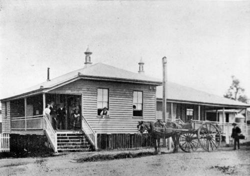 Boonah post office,1903-lilly