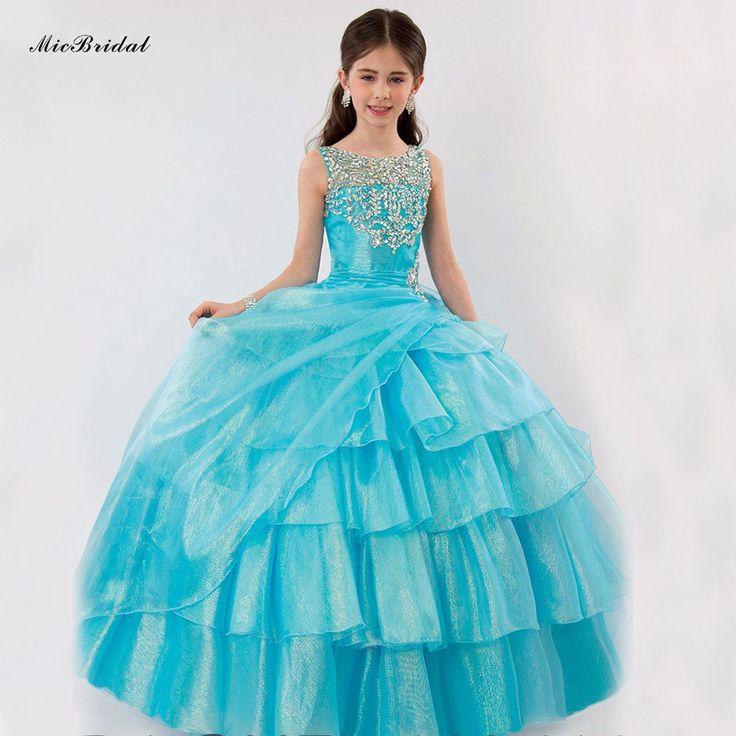 Robes pour petites filles for Robes taille plus pour les mariages pas cher