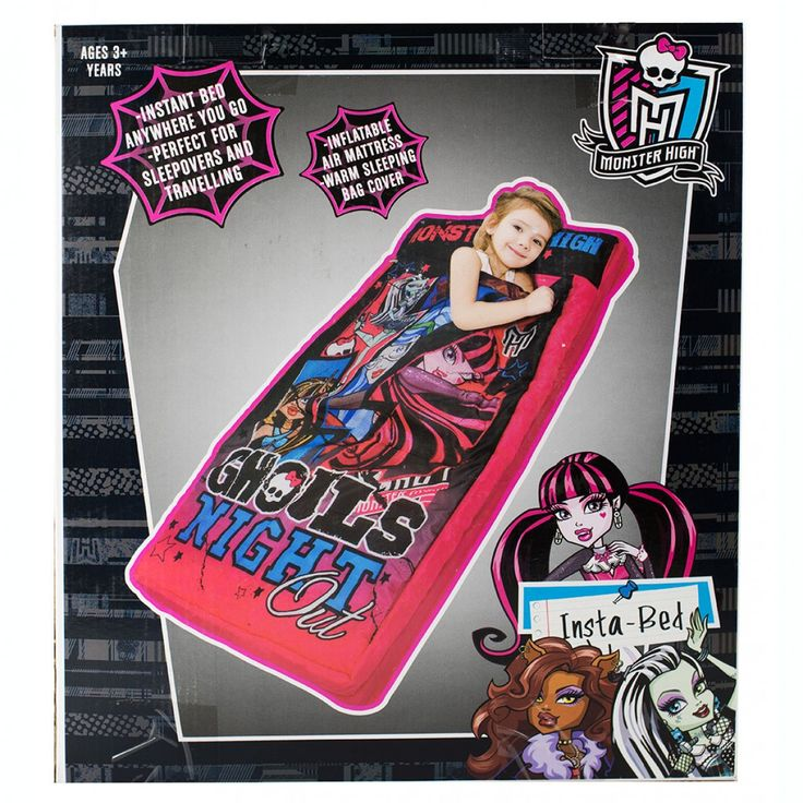 Monster High Insta Bed from Funstra Toys