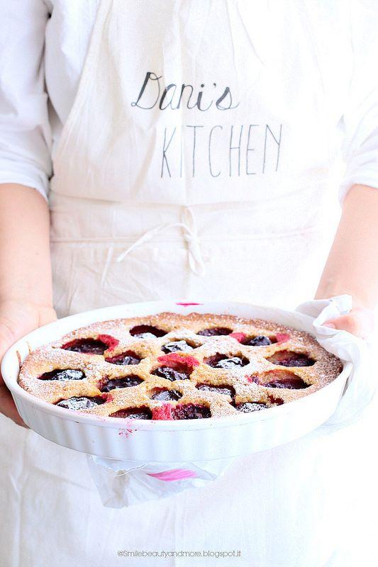 Torta alle prugne susine