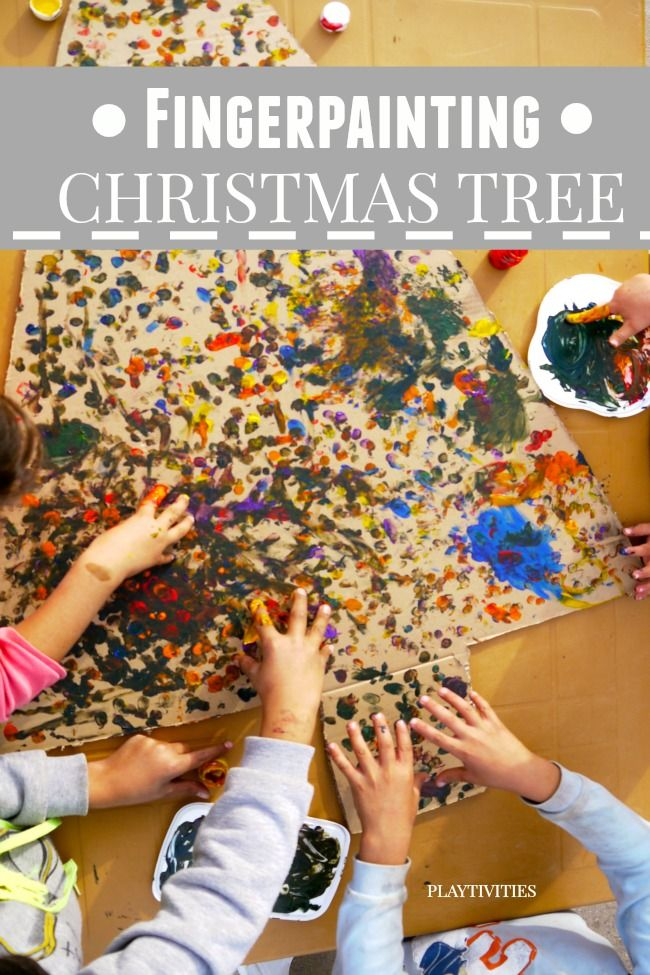 Christmas Tree Craft for Toddlers