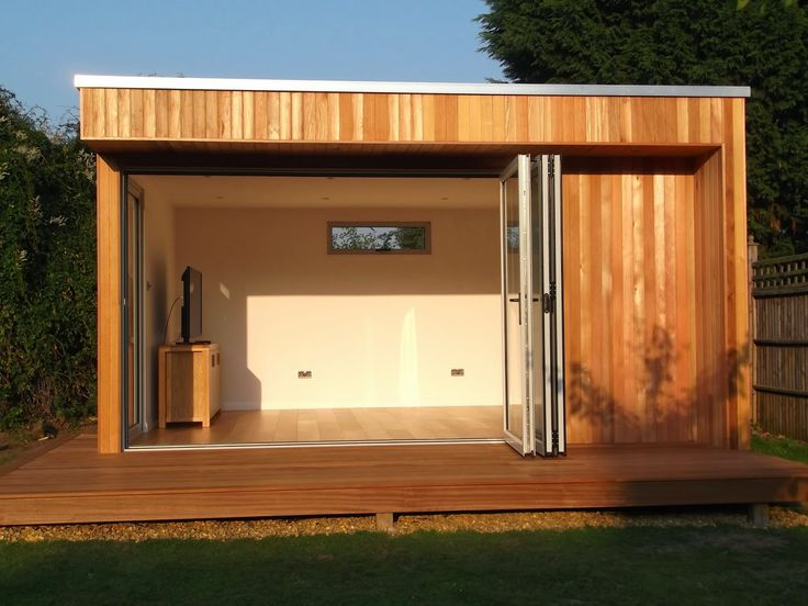 garden room with side shed - Google Search