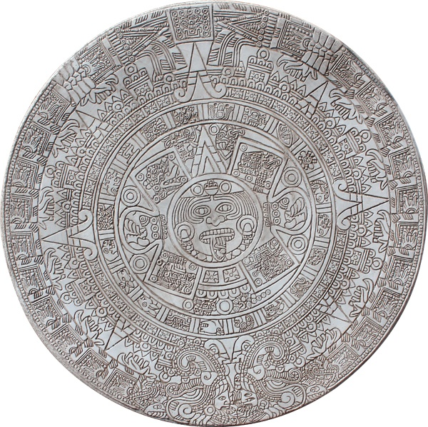 Stamped Concrete Medallions : Aztec calendar medallion concrete stamp you can purchase