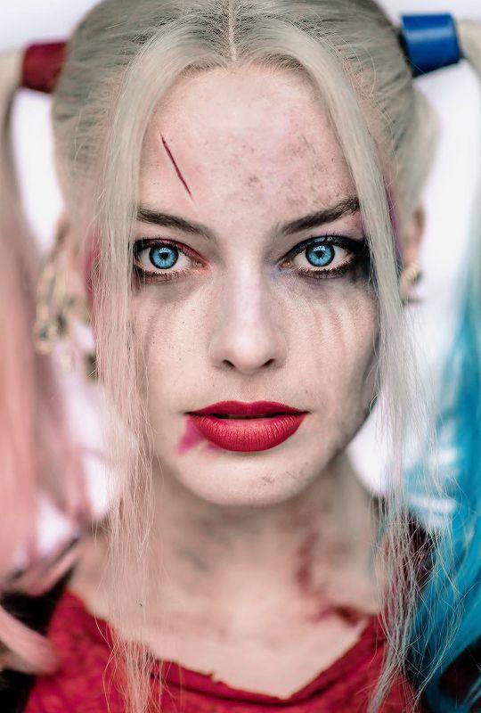 "harleyquinnsquad: "" ♦ Harley Quinn Halloween inspiration by Clayenos """