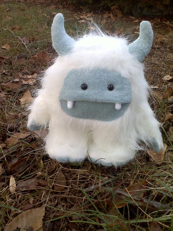 Small Seasonal Monster by protopye on Etsy