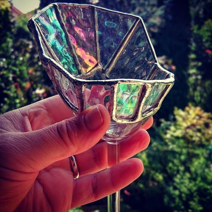 Cherry! ;-)  You don't throw out the broken glass do you?  #glass #czinamonglassart #czinamon #tiffany #art #broken #glassart #goodwork #goodidea #giftideas #mywork #light  #candel #succulent #happy #hold #color #colorful #nice