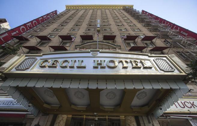 Imagen de archivo del Cecil Hotel de Los Ángeles