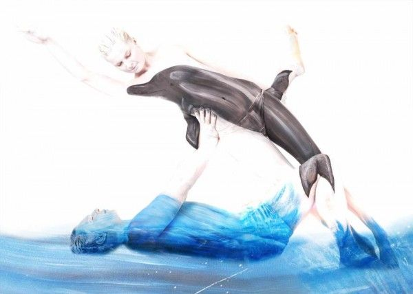 Beautiful!! Bodypaintings by Gesine Marwedel | Cuded