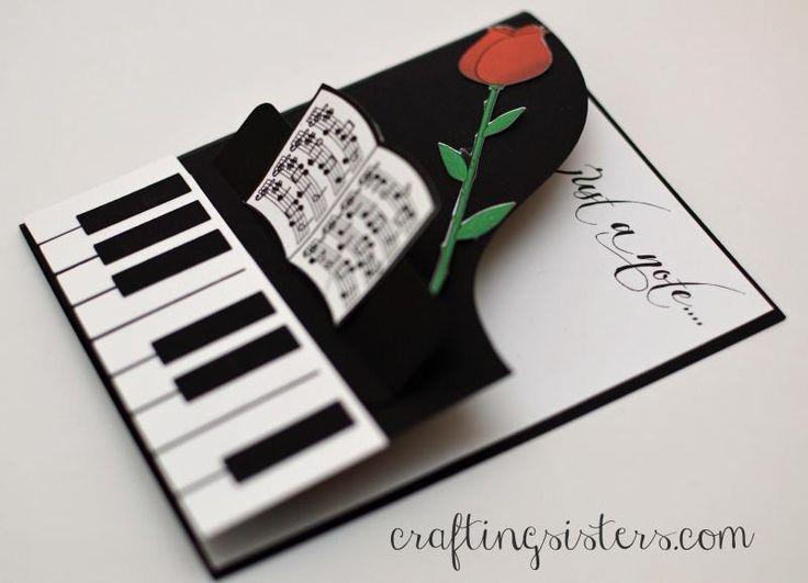 Музыкальная открытка своими руками сделать, дедом
