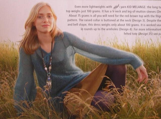 Turquoise Sweater из Rebecca - Елена Антонова - Веб-альбомы Picasa