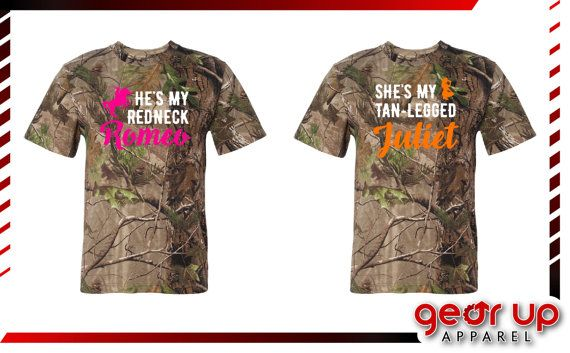 NEW Redneck Romeo & Tan-Legged Juliet Adult REALTREE®