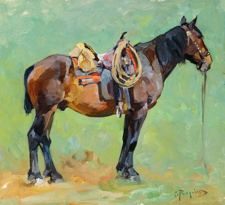 488 best Horse Paintings images on Pinterest