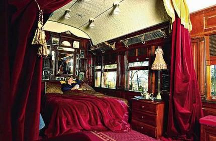 Shades of the orient express it 39 s all old fashioned for Bedroom expressions