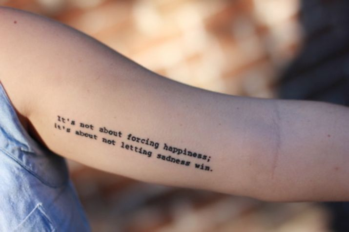 6 mental health tattoos to celebrate your journey of recovery from depression | … – Parchen…