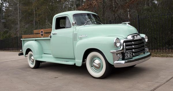 1954 GMC Series 100 1/2-Ton Hydramatic Pickup Truck
