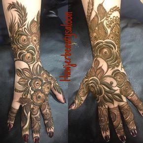 "81 Likes, 9 Comments - صالون هواجر للتجميل⚜ (@hawjerbeautysaloon) on Instagram: ""#henna #hennadesign #hennaart #hennahands"""