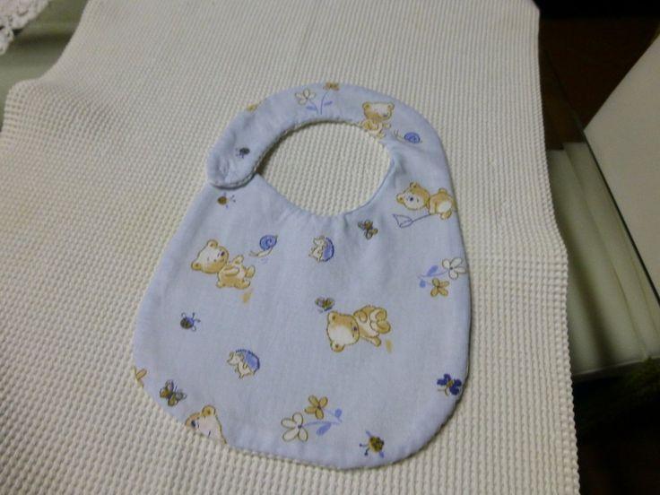 Bavaglino + porta pannolini o prodotti neonato, by I sogni nel cassetto, 12,00 € su misshobby.com