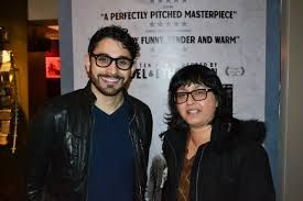 """Writer, Director """"Aleem Khan"""" with Executive Producer Refat """"Ruth"""" Yasmeen at the LSFF"""