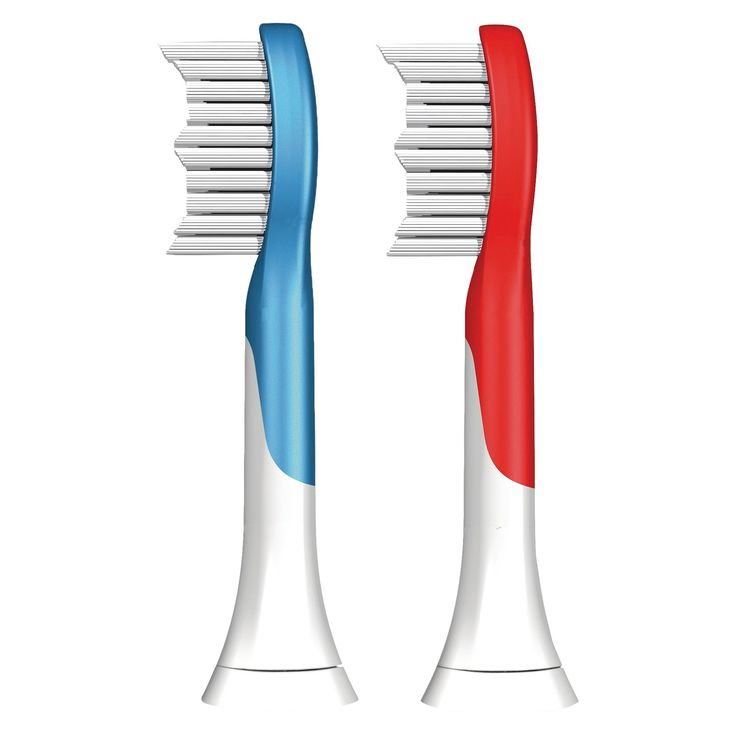 Phillips Sonicare HX6042/94 Kids Replacement Electric Toothbrush Head - 2pk