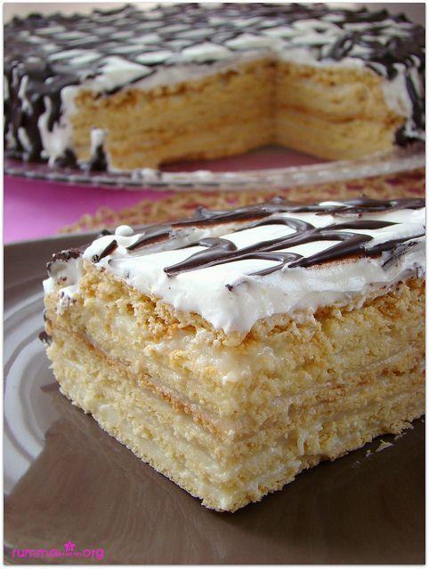 Meşhur rus pastası Medovik - rumma