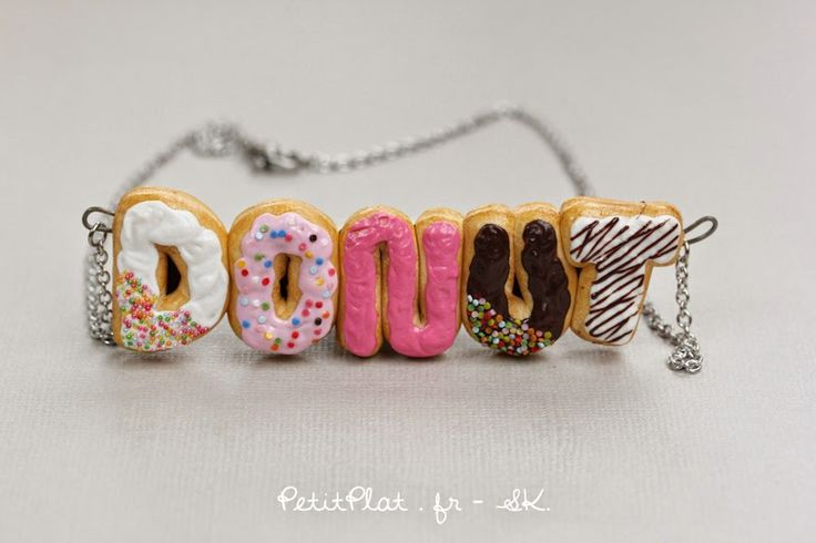 Collier en donut