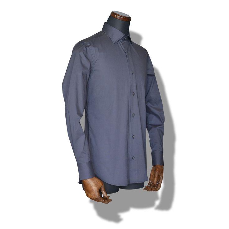 decollo dress shirts - grey super stretch  #mens #ladys #fashion #shirts #business #travel #pilot #italy #suits #narrowtie #style #white #monochrome #black #decollo #model #tokyo #shop #success #pinterest #decollouomo #cruise