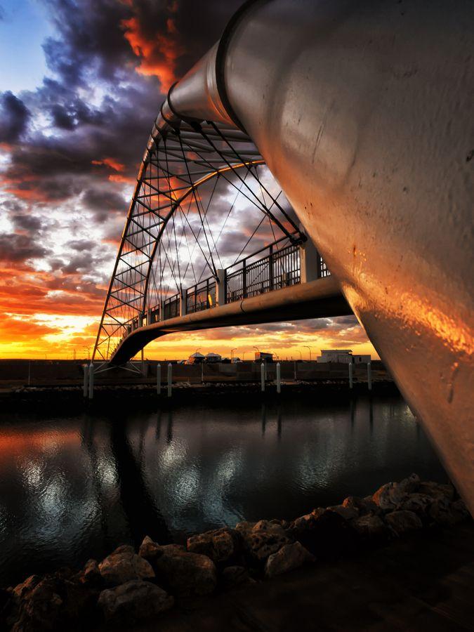 Exmouth Bridge, Western Australia.