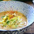 ◖そうめんズッキ◗タヒニ麺つゆ by 薄荷パン
