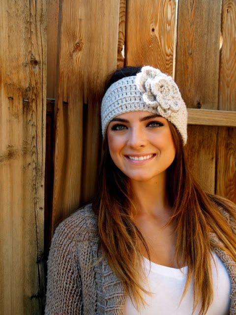 Rosa acessórios em tricô & crochê: Acessórios para os cabelos