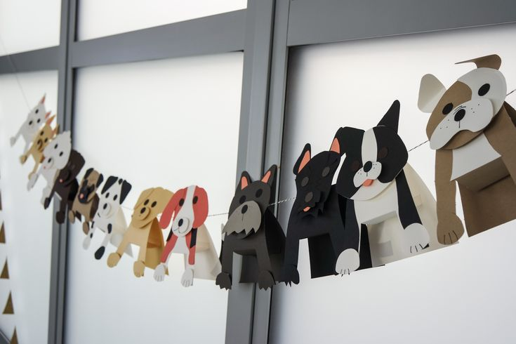 Puppy party theme  https://www.papersource.com/item/Doggie-Kit/3303-052/4071295705.html