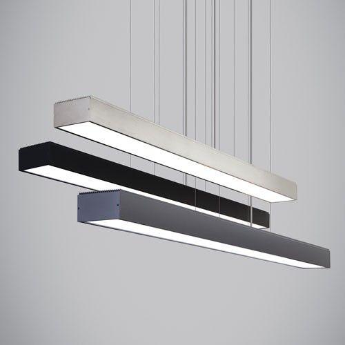 Knox Line Voltage Linear Suspension Light & TECH Pendants   YLighting